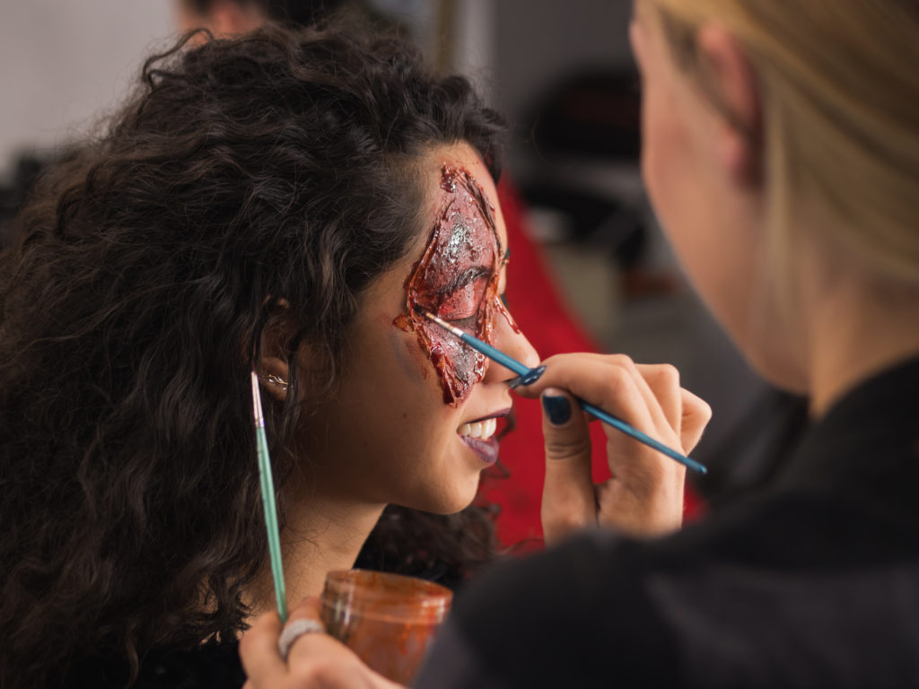 ACSM_makeup short courses perth halloween makeup